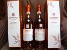 2 bottles - Glenmorangie A Midwinter Night's Dram  0,7l    Limited Edition