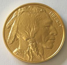 United States – 50 Dollars 2013 'American Buffalo' – 1oz gold
