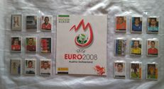 Panini - Euro 2008 Austria/Switzerland - Empty album + Full set of stickers.