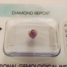 0.73 ct natural diamond pink