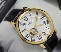 Rotary – Men's Gold Plated Automatic Watch – unworn