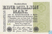 Allemagne 1 Million Mark 1923 (P102d - Ros.101d)