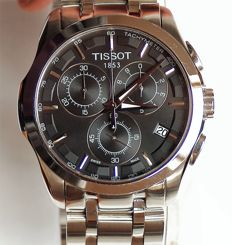 TISSOT - 1853 - T035.617.11.057.00 - Couturier   -STAINLESS STEEL WATCH - Chronograph