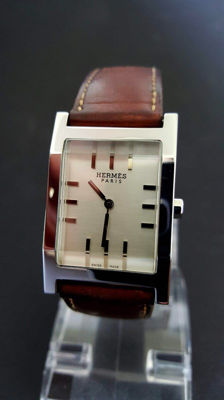 Hermes Paris Tandem TA1 710 – men's watch – around 2001.