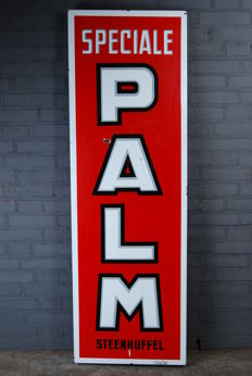 Enamel sign - 'Speciale Palm' - 1968