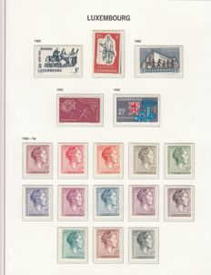 Luxembourg 1960/2011 – Collection in 2 Davo albums