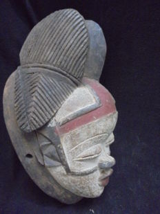 Mask POUNOU - Gabon