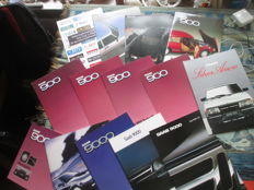 Car brochures (SAAB, 18x, 1981-2009)