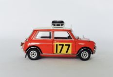 Franklin Mint - Scale 1/24 - Morris Mini Cooper S Rallye Edition 1967