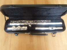 Davido silver-plated flute, in excellent condition.