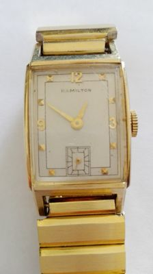 Hamilton American watch – 14 kt gold filled – Unisex