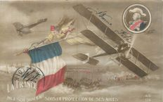 Military - Militaria - lot of 50 patriotic postcards - Beautiful animations
