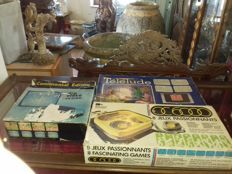3x oldies consoles retro-gaming collector: Video Game OC6000 Occitane Electronic / continental Edison JV 2705 / Telelude Schneider  1980's