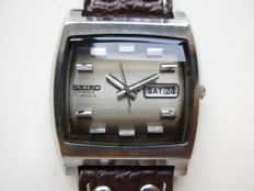 Seiko TV model - men's wristwatch - 1970s
