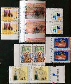 Italy, Republic, 2003-2010 – lot of 6 series (stamps)