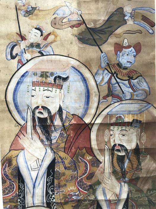 Taoist painting - China - 19th Century