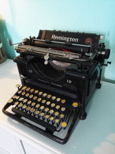 Typewriter Remington 12 - From 1922