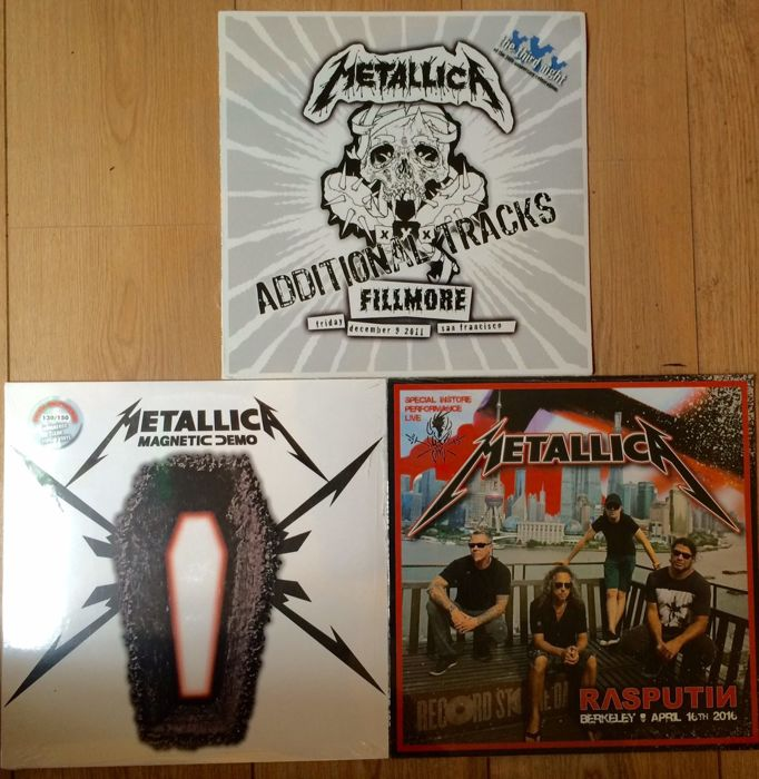 Great Metallica collection || 3 LP's || Rarities || All mint in sealing