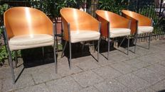 Philippe Starck voor Aleph - 'King Costes' chairs (4 x).