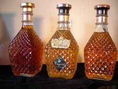 3 bottles - Monde Shozou  -  Royal Crystal Whisky - Old Japanese Whisky