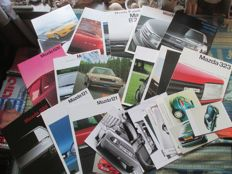 Car brochures Mazda (including 929/RX7/MX5, 20 brochures/21 press pictures, 1979-1990)