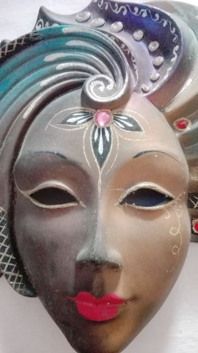 Beautiful large ceramic mask