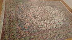 Beautiful Penjab carpet in wool and silk - 307/216 cm - PERFECT CONDITION -
