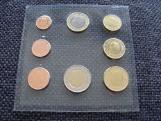 Belgium - Year collection 1 Cent up to and including 2 Euro 2001