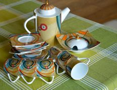 Gattinoni ceramic coffee set