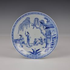 Chinese Blue White plate - China - Yongzheng Ca. 1725
