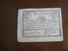 Italy - 7 banknotes of different origins
