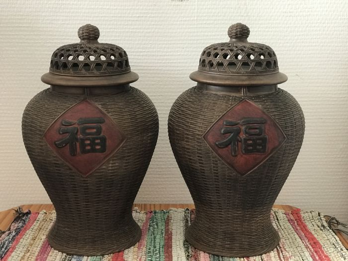 Two modern Yixing pots - China - 21st century