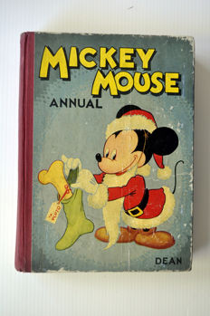 Disney, Walt - Mickey Mouse Annual - hc - 1st edition (1946)