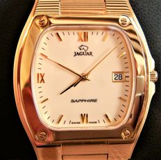 Jaguar – Vintage wristwatch in 18 kt gold plating, 10 microns - NEW CONDITION.