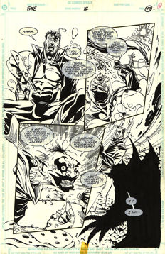 Anthony Williams - Original Art Plate - DC Comics - Fate # 14 - Page 12 - (1995)