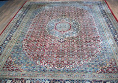 Old royal Persian carpet Nain with wonderful, very rare patterns – XL size 360 x 246 cm