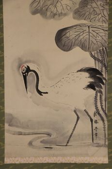 Painting on scroll by Hogen Moritsue – Japan – Early 1700s