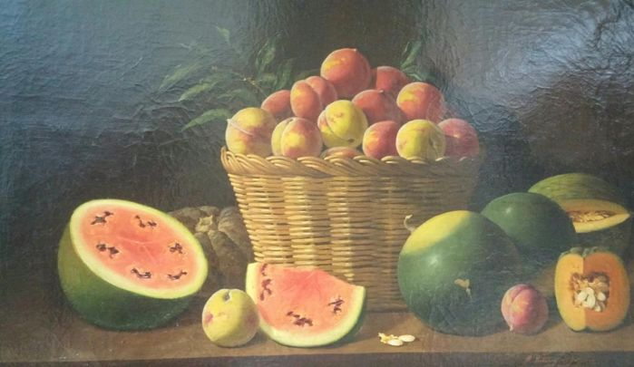 Manuel Ventura Millan Rodríguez (1923-1984) - Still life with fruits