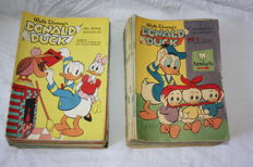 Donald Duck Weekblad - 105 issues - 2 complete years - 105xsc - 1st edition (1960/1961)