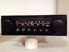 Classic Ford classic car radio from the 1980s