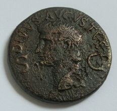 Roman Empire - Dupondius, Augustus, struck under Caligula A.D. 37-41