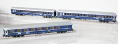 Märklin H0 - 4051 - three TEN-Express passenger carriages of the NS