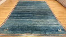 Beautiful Gabbeh Carpet - Hand-knotted - 190/120 - VERY GOOD CONDITION