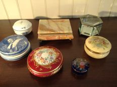 7 x jewellery boxes in good condition