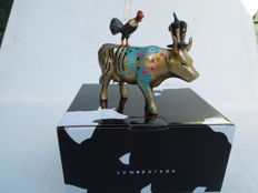 Cow Parade - Cowparade - Something to crow about- medium - Resin.