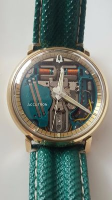 Bulova Accutron Spaceview-wristwatch -men's 1967
