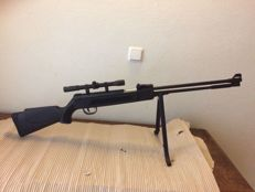 Sniper Afrilec - air gun 5,5mm including scope