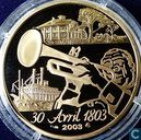 """Frankrijk 20 euro 2003 (PROOF) """"Bicentenary of the sale of Louisiana to the United States"""""""