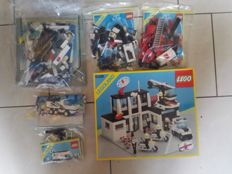 Classic Town - 6386  +6384 + 6676  + 6430 + 6450 + 6480 - Police Command Base + Police Station and more