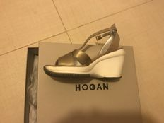 Hogan, comfortable open shoes